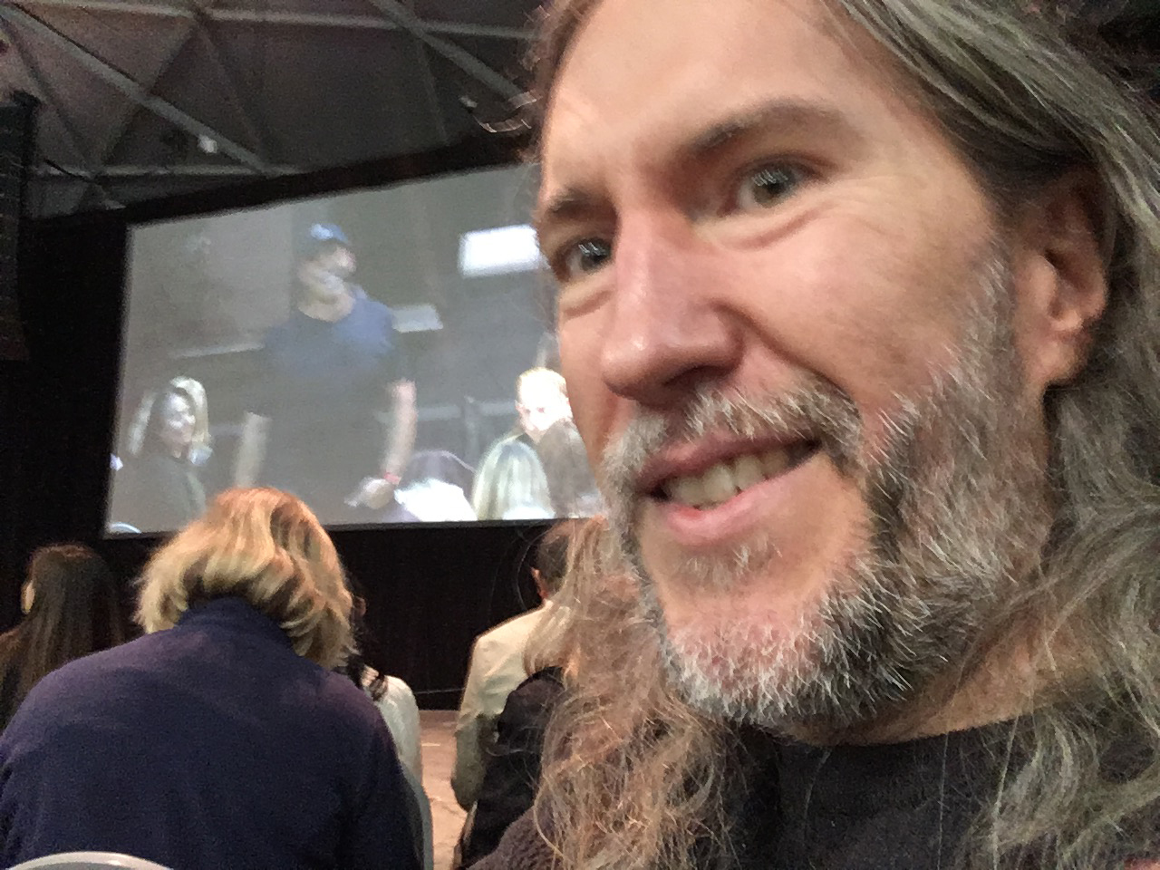 Anthony Metivier at a Tony Robbins Event