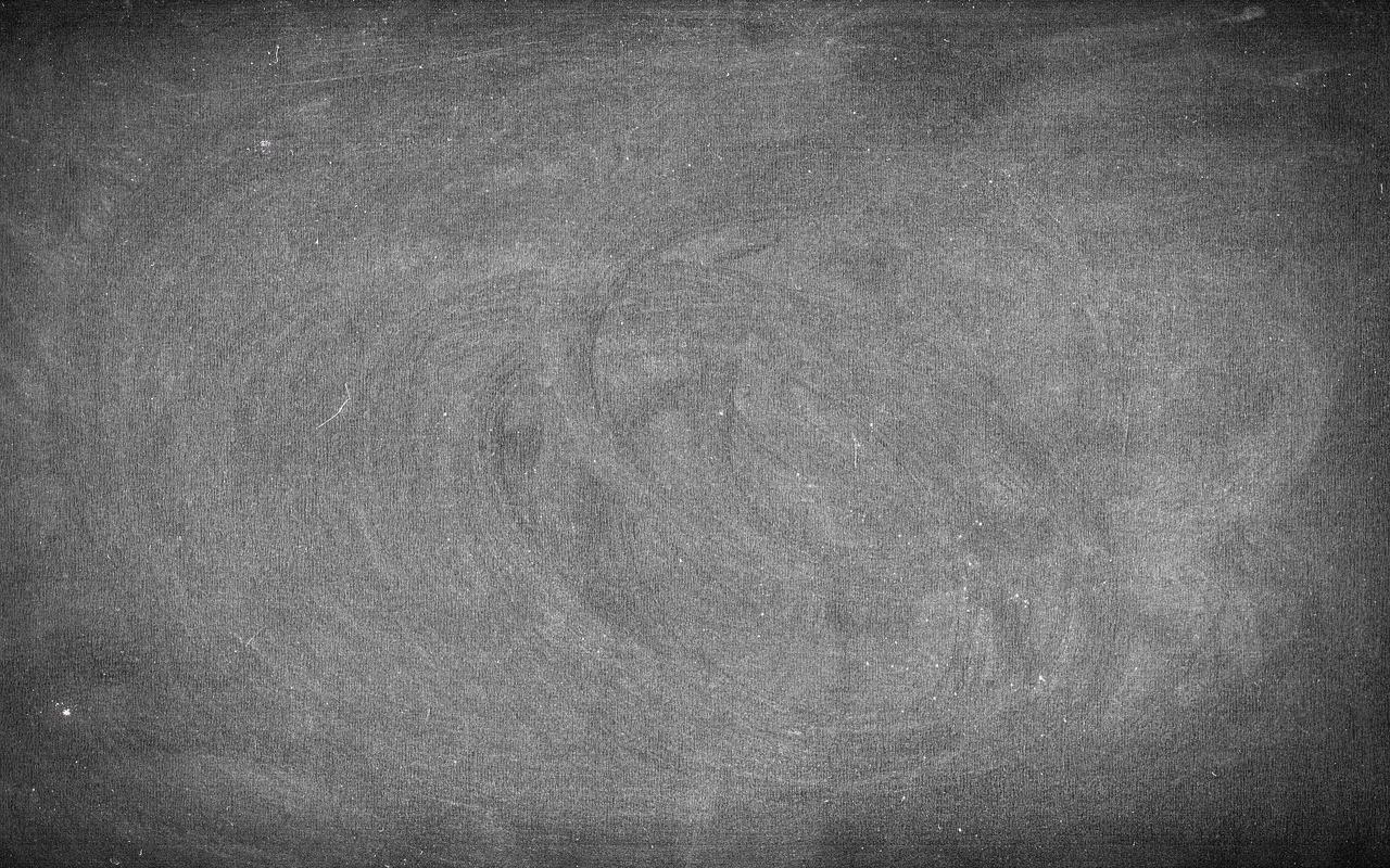 a big chalkboard