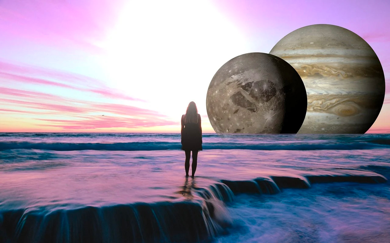 a woman and the planet