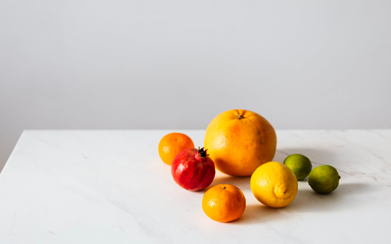 citrus fruits on a table